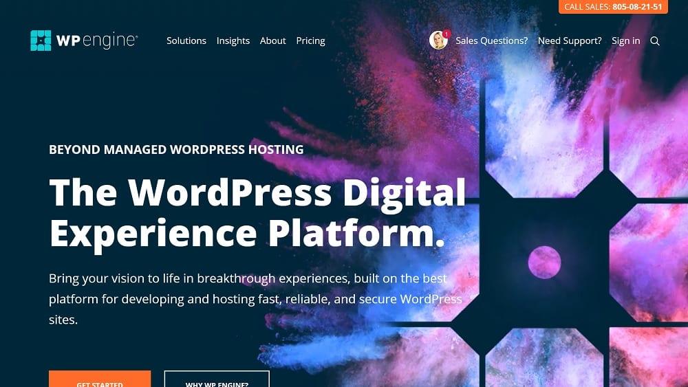 WP Engine - Hébergement Web Spécialisé WordPress