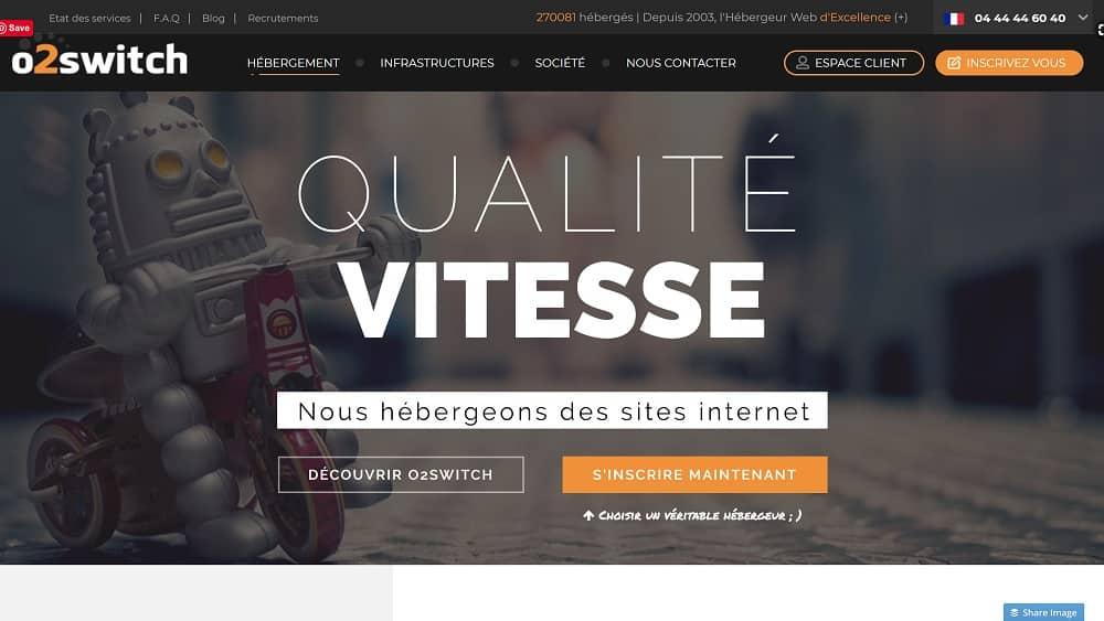 o2switch - un Hébergeur Web aux serveurs de qualité industrielle