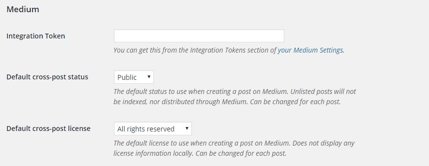 Faire le lien avec votre Compte Medium