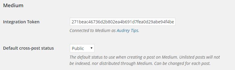 """Entrez une description puis cliquez sur """"Get Integration Token"""" pour obtenir le code"""