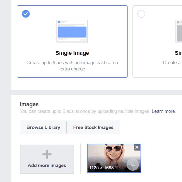 Choisir le format, le visuel et le texte de votre publicité Facebook