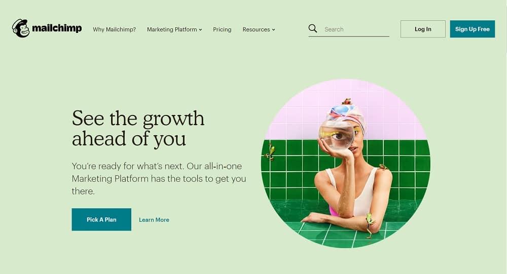 """Mailchimp - Plateforme Marketing """"tout-en-un"""""""