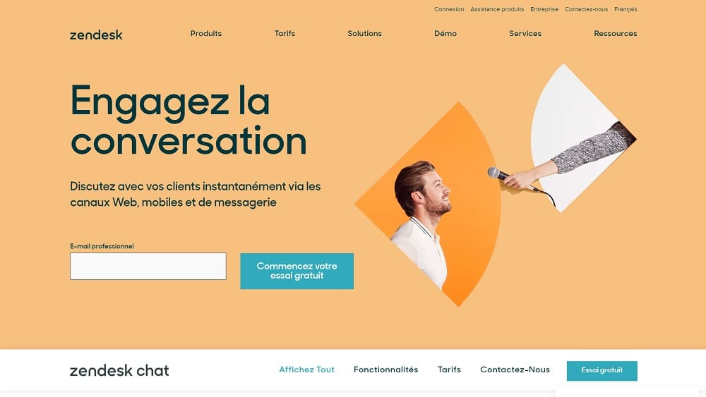 Pourquoi Zendesk Chat ?