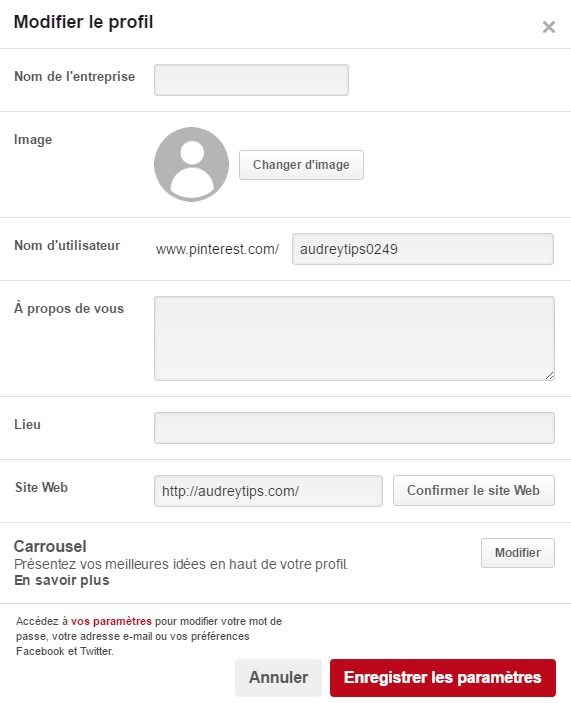 Comment mettre votre entreprise sur Pinterest - Réseaux Sociaux