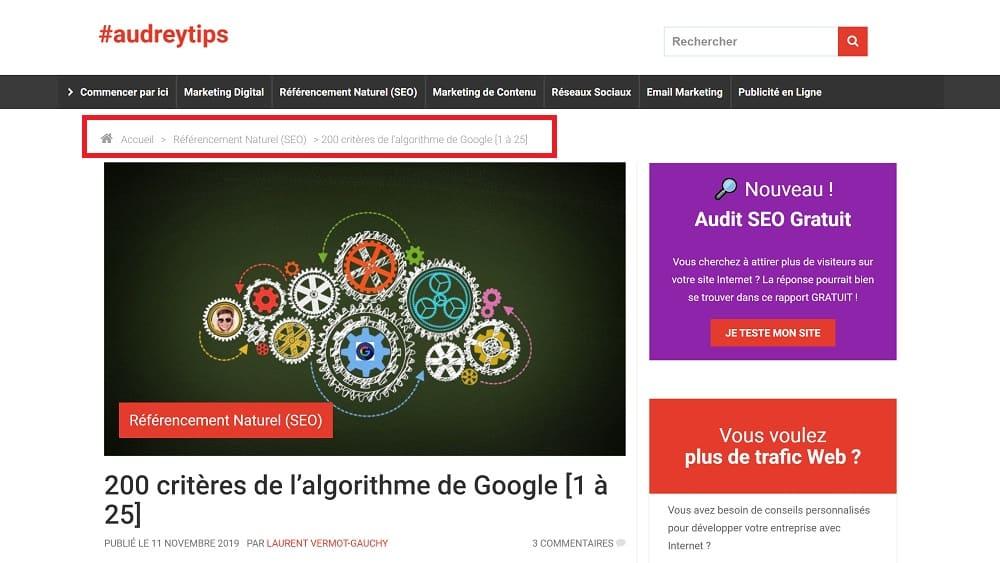 200 Critères De L'algorithme De Google [26 à 50] - Référencement Naturel (SEO)