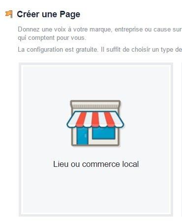 Créer une page Facebook pour votre restaurant