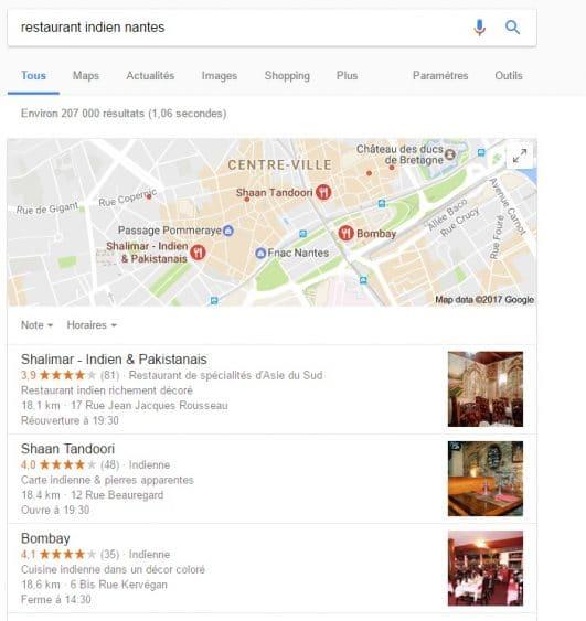 Inscrire votre restaurant sur Google My Business