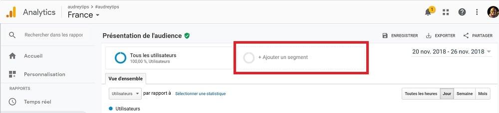 Comment segmenter vos visiteurs dans Google Analytics ? - Marketing Digital