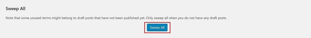WP-Sweep Pour Nettoyer Votre Base De Données Wordpress - Technologies