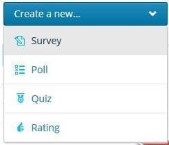 créer questionnaire client Polldaddy