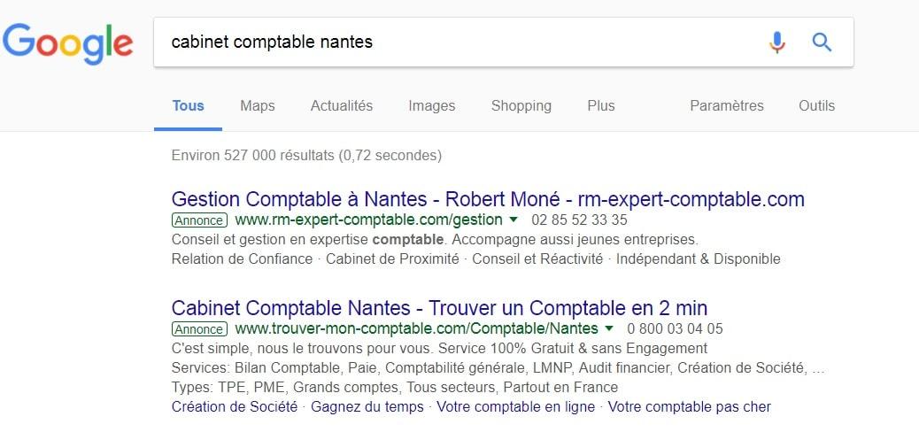 """Google Ads c'est comme La position """"0"""""""