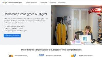 Google Ateliers Numériques : J'ai testé la formation pour vous !