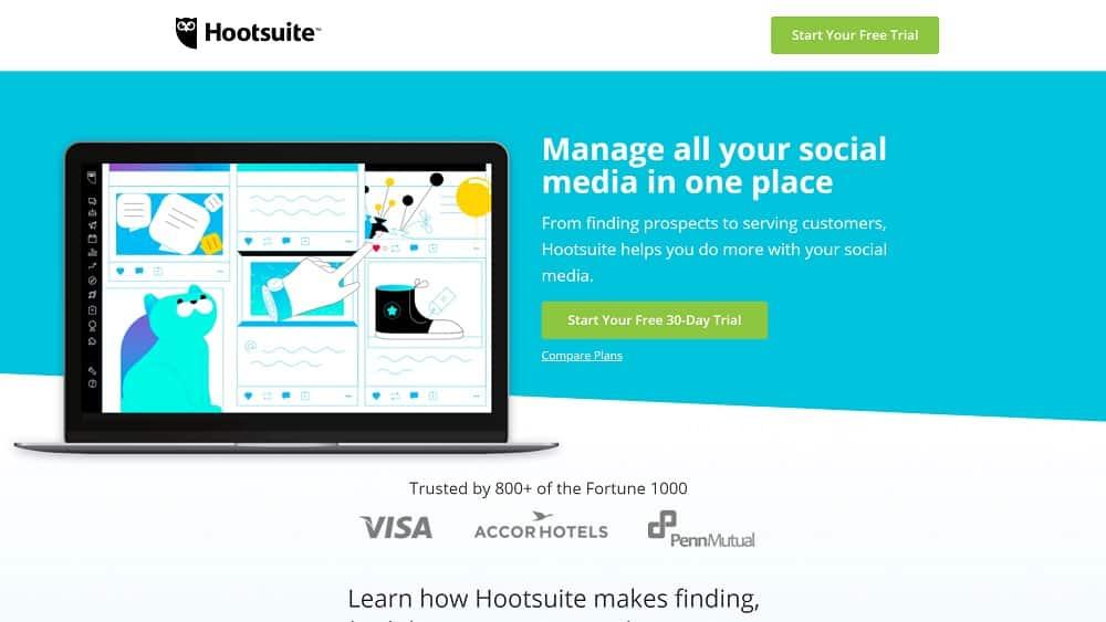 outils pour l'Inbound Marketing N° 5 : HootSuite, pour automatiser votre Social Media