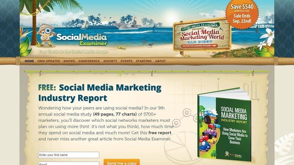 Social Media Examiner - Marketing Digital