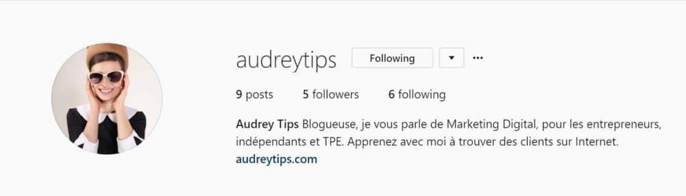 Booster votre compte Instagram - Optimiser votre profil