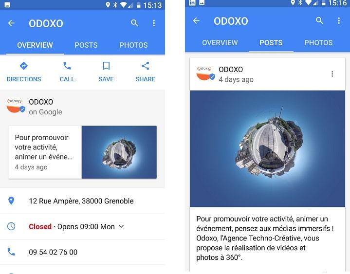 Les Google Posts Pour Google My Business : Ca Vaut Le Coup ? - Référencement Naturel (SEO)