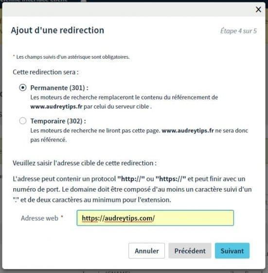 Comment faire une redirection de Nom de Domaine sur OVH - Marketing Digital
