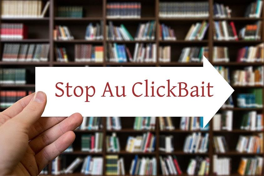 Facebook et Twitter disent stop au clickbait - Réseaux Sociaux