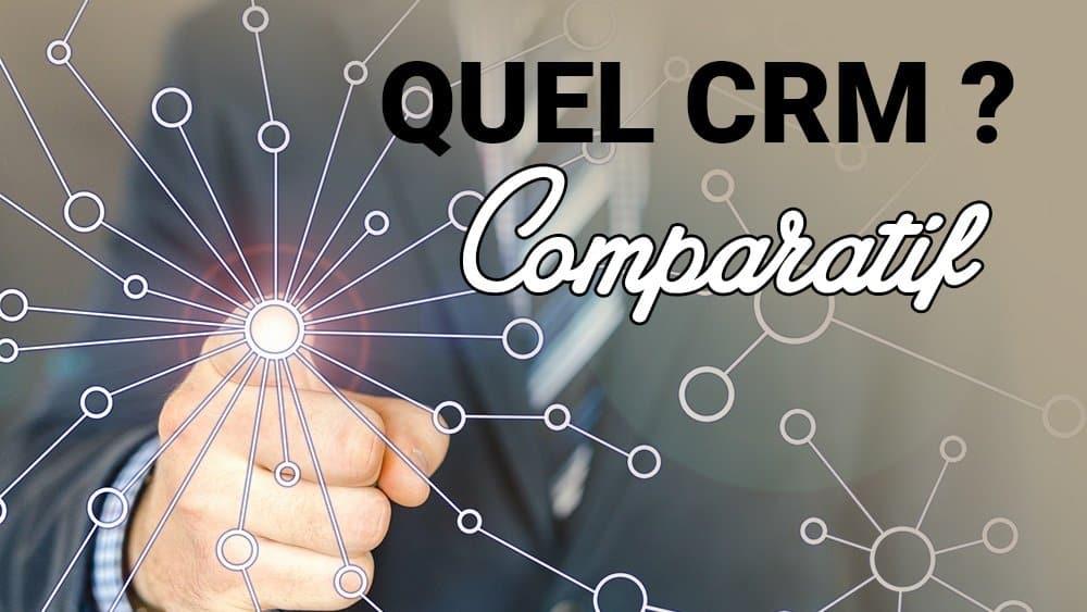 Comparatif de 4 CRM pour votre Marketing Digital