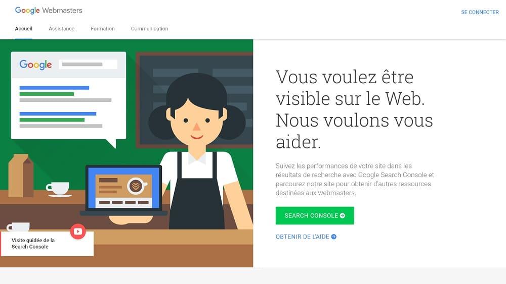 Les Outils Webmaster Google ? Une Introduction - Search Console