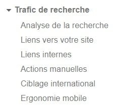 14 points à checker régulièrement sur Google Search Console