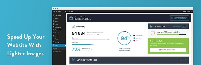 extension indispensable : Imagify : Optimiser vos images