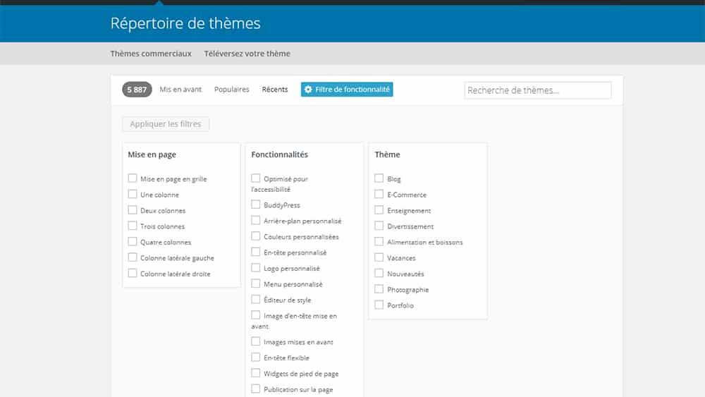 8 critères pour choisir un thème WordPress