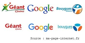 Les logos style flat design