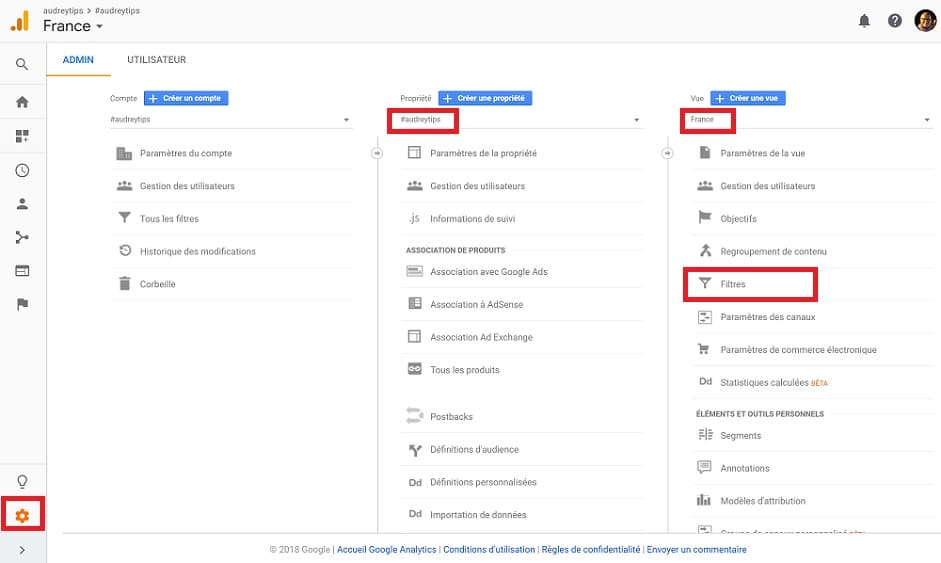 Google Analytics : structure, concepts et notions-clés - Marketing Digital