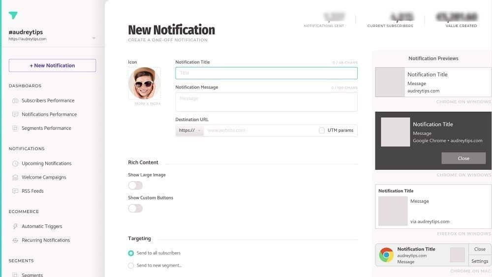 Subscribers : Envoyer une notification à vos abonnés