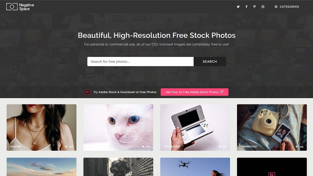 18 sites de photos gratuites libres de droit à usage commercial