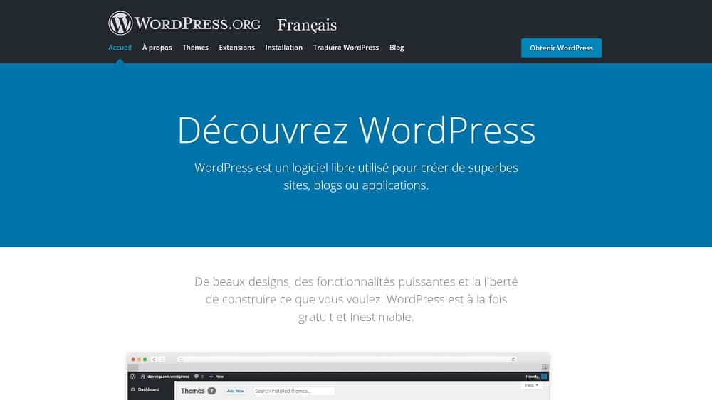 WordPress - les fondamentaux