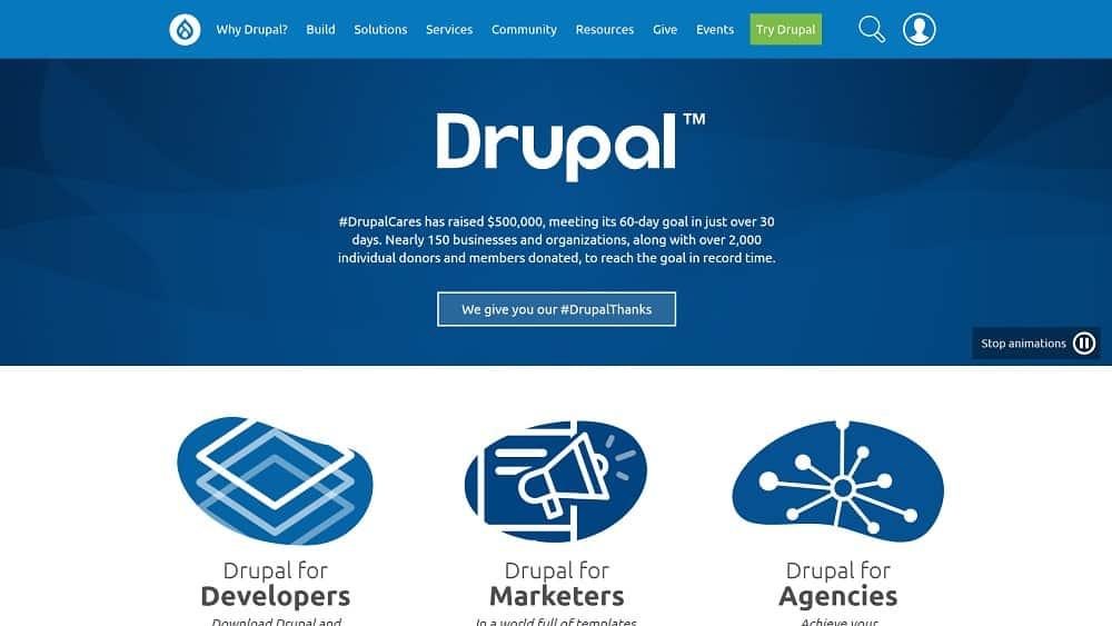 Drupal - présentation