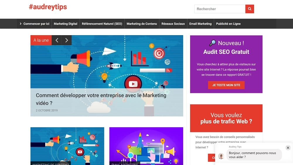 Votre site Web : la clé de voûte du Marketing Digital