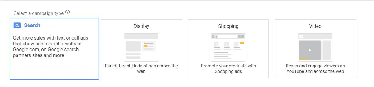1. Maîtriser les différents types de campagnes pour mieux utiliser Google Ads