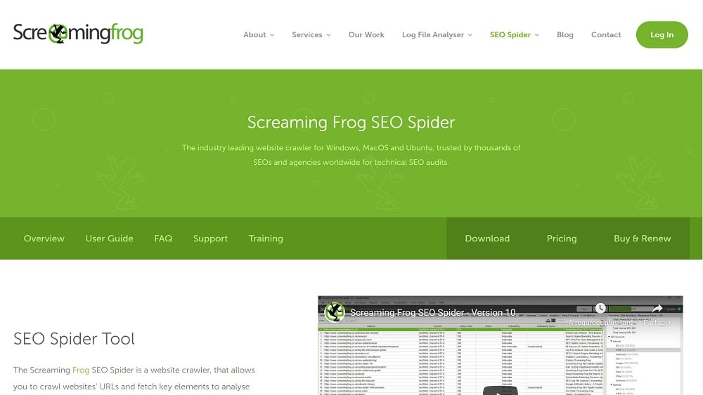 2. Screaming frog ou l'allié de l'analyse on-site