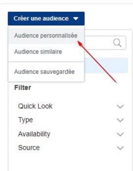 Comment créer une audience personnalisée sur Facebook Ads ?