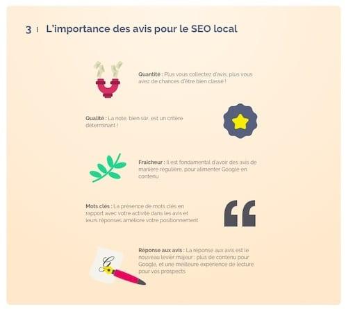 L'importance des avis client pour le SEO Local