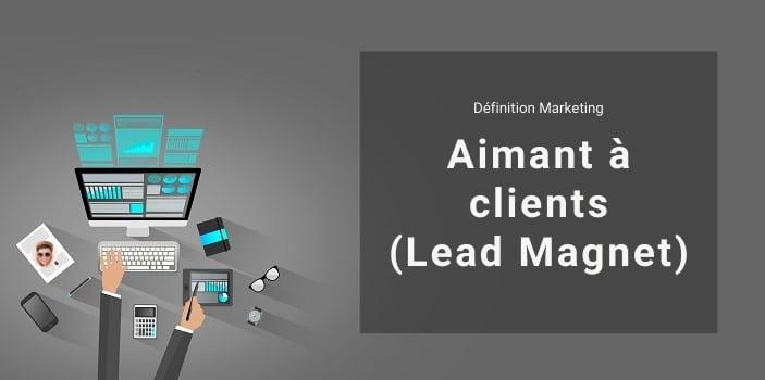 Définition Marketing : qu'est ce qu'un aimant à clients ou lead magnet ?