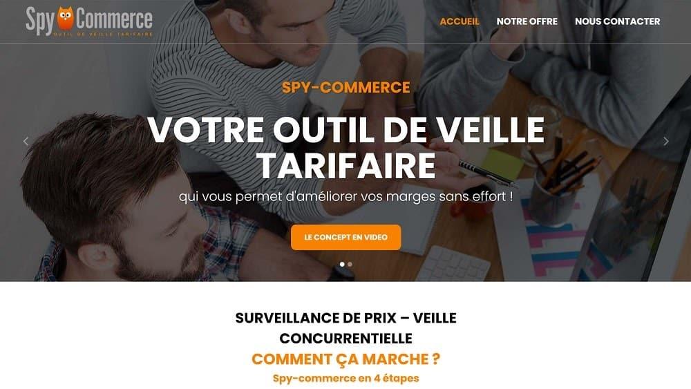 Spy-Commerce - outil de veille tarifaire
