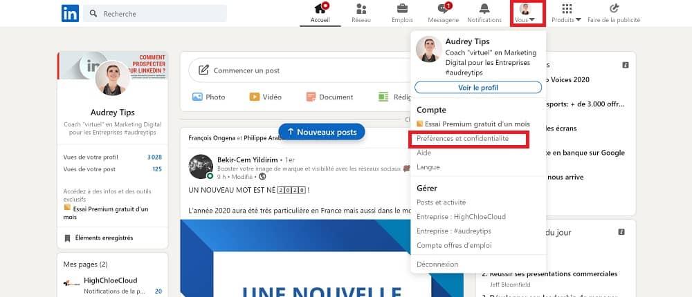 Capitaliser et sauvegarder vos données LinkedIn