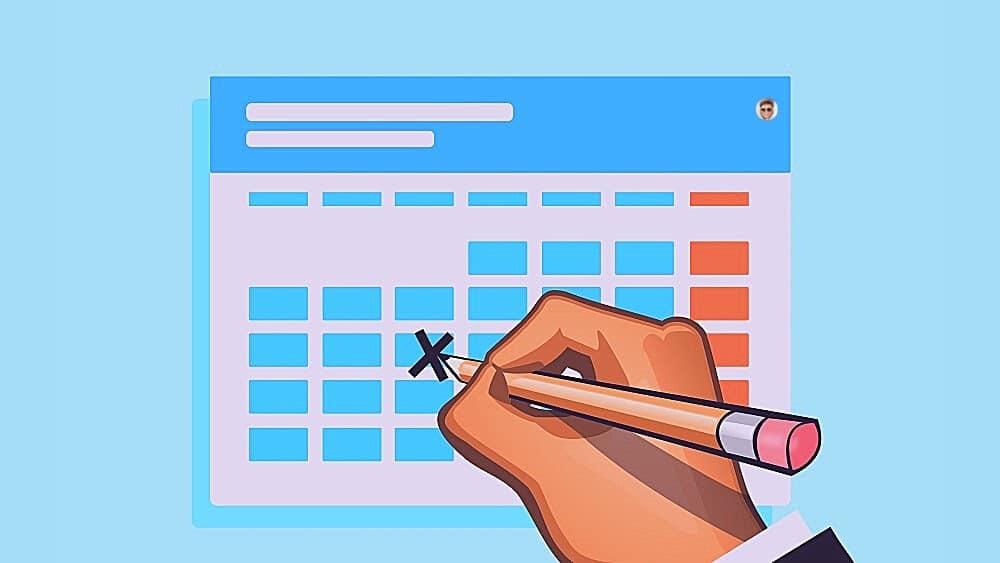 Taux de clics organique - Utiliser des dates